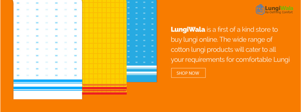 worlds first online lungi store