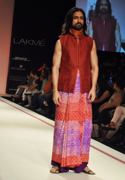 lungi in fashion world
