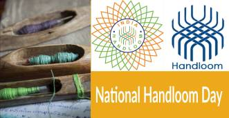 national handloom day graphics