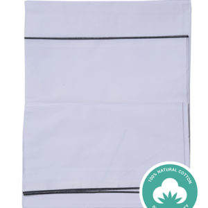 plain white lungi for all age people